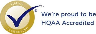 Healthcare Quality Association on Accreditation seal